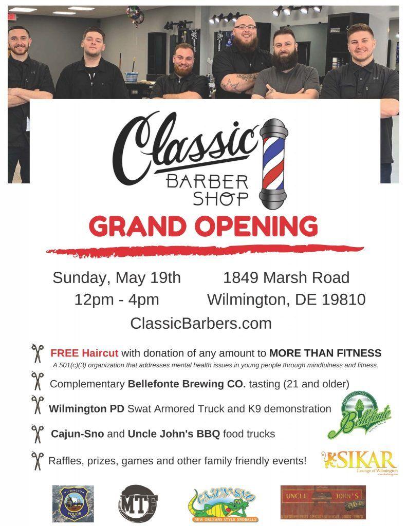 News/Events - Classic Barber Shop